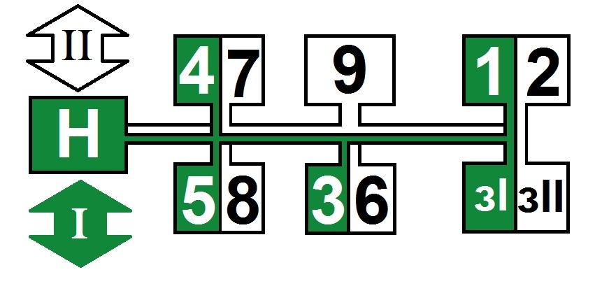 Схема передач трактора МТЗ-80