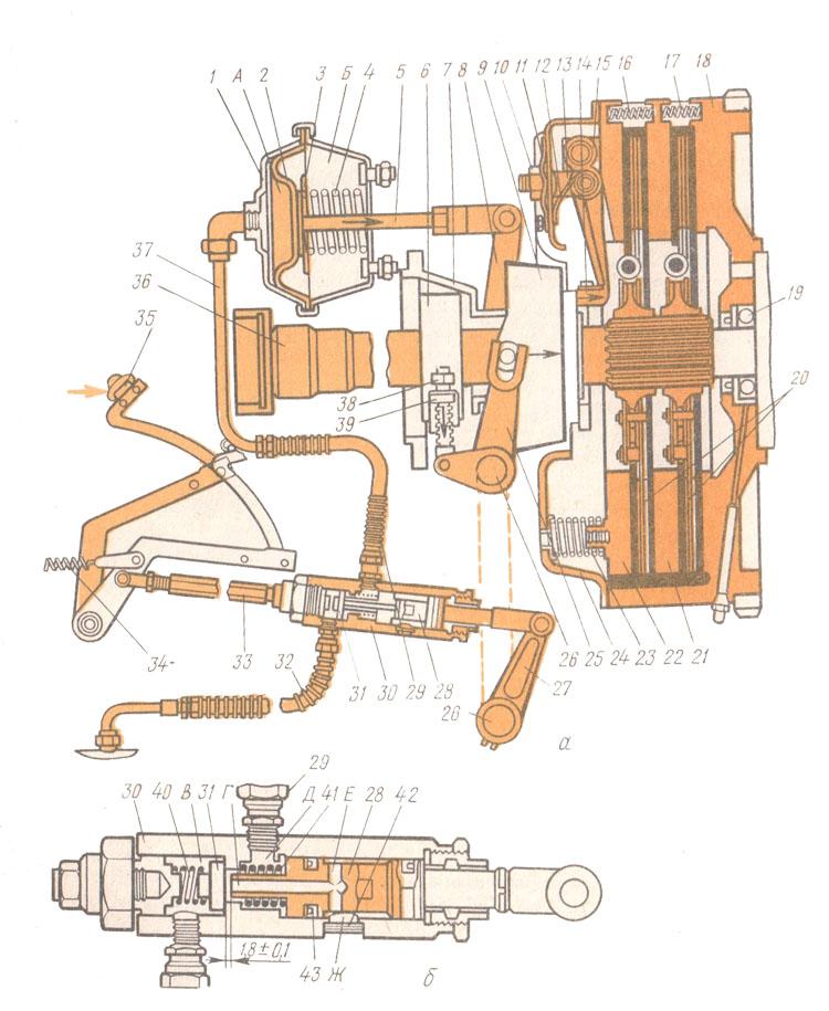 Схема пускача на т-150