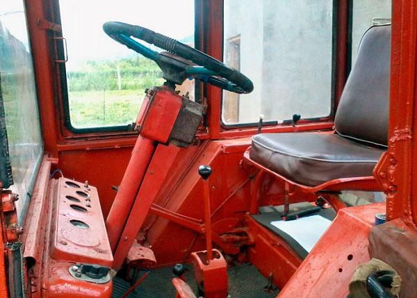 Кабина трактора Т-25