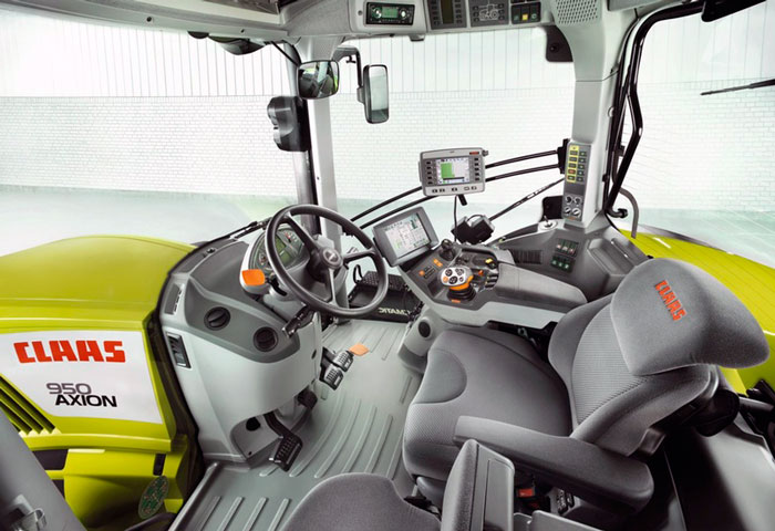 Кабина Claas AXION 950