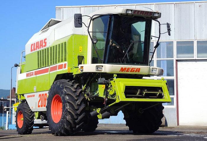 Комбайн Claas Mega 208