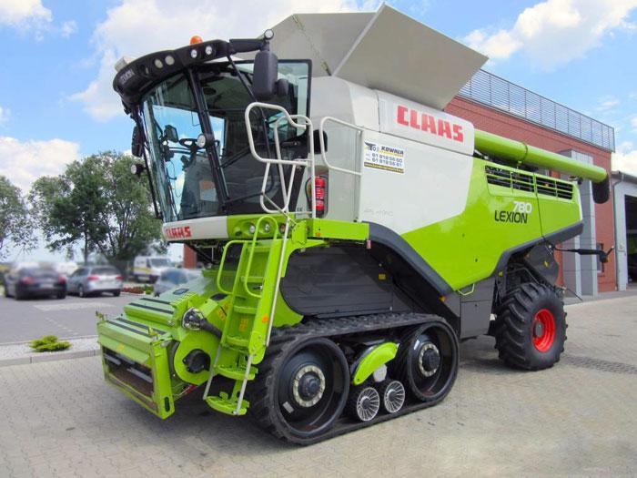 Комбайн Claas Lexion 780